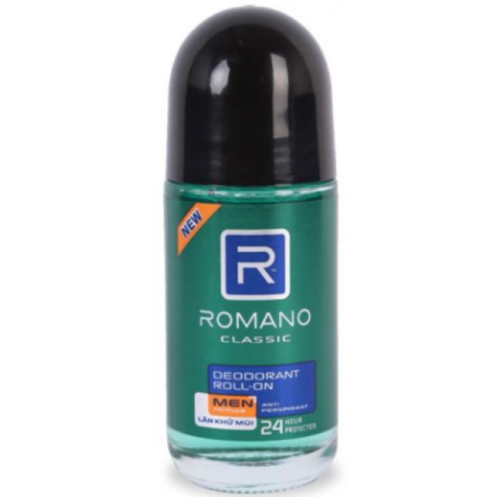 Lăn Khử Mùi Romano Classic 40ml