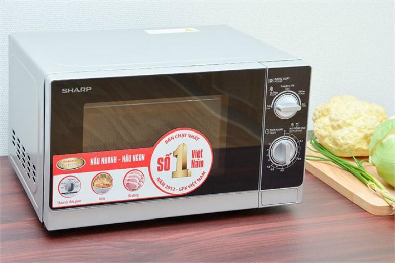 Lò vi sóng cơ Sharp R-205VN-S 20L 800W