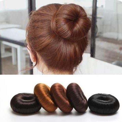 Búi tóc cuộn xinh xắn cho nữ