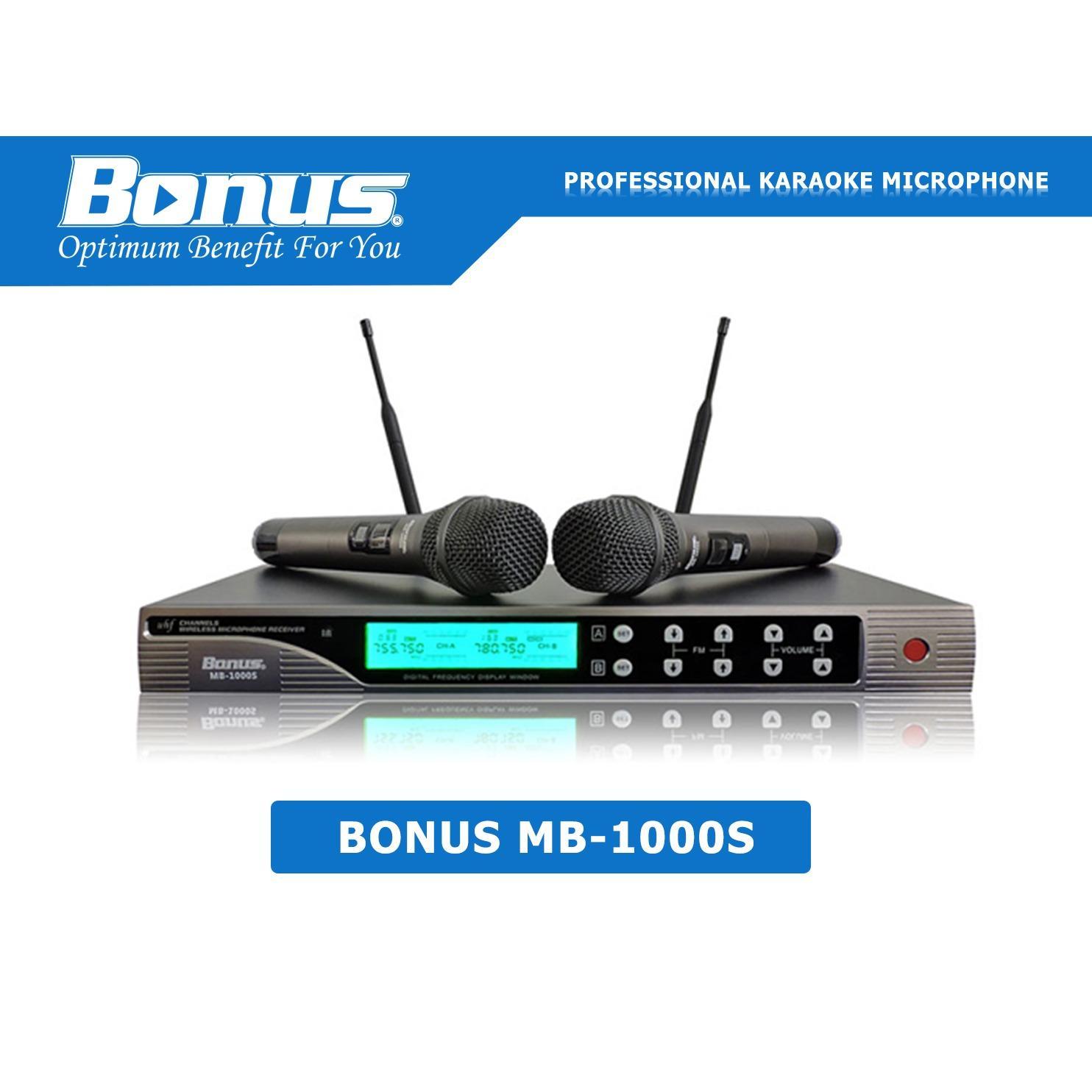 Chiết Khấu Micro Karaoke Bonus Audio Mb 1000S Có Thương Hiệu