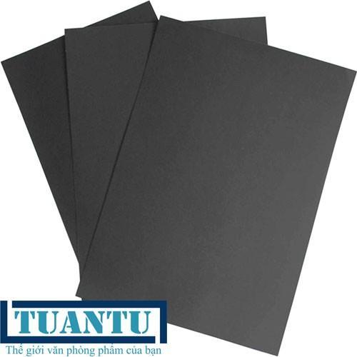 Mua Giấy Bìa Màu Đen A4 -160gsm - 100 tờ