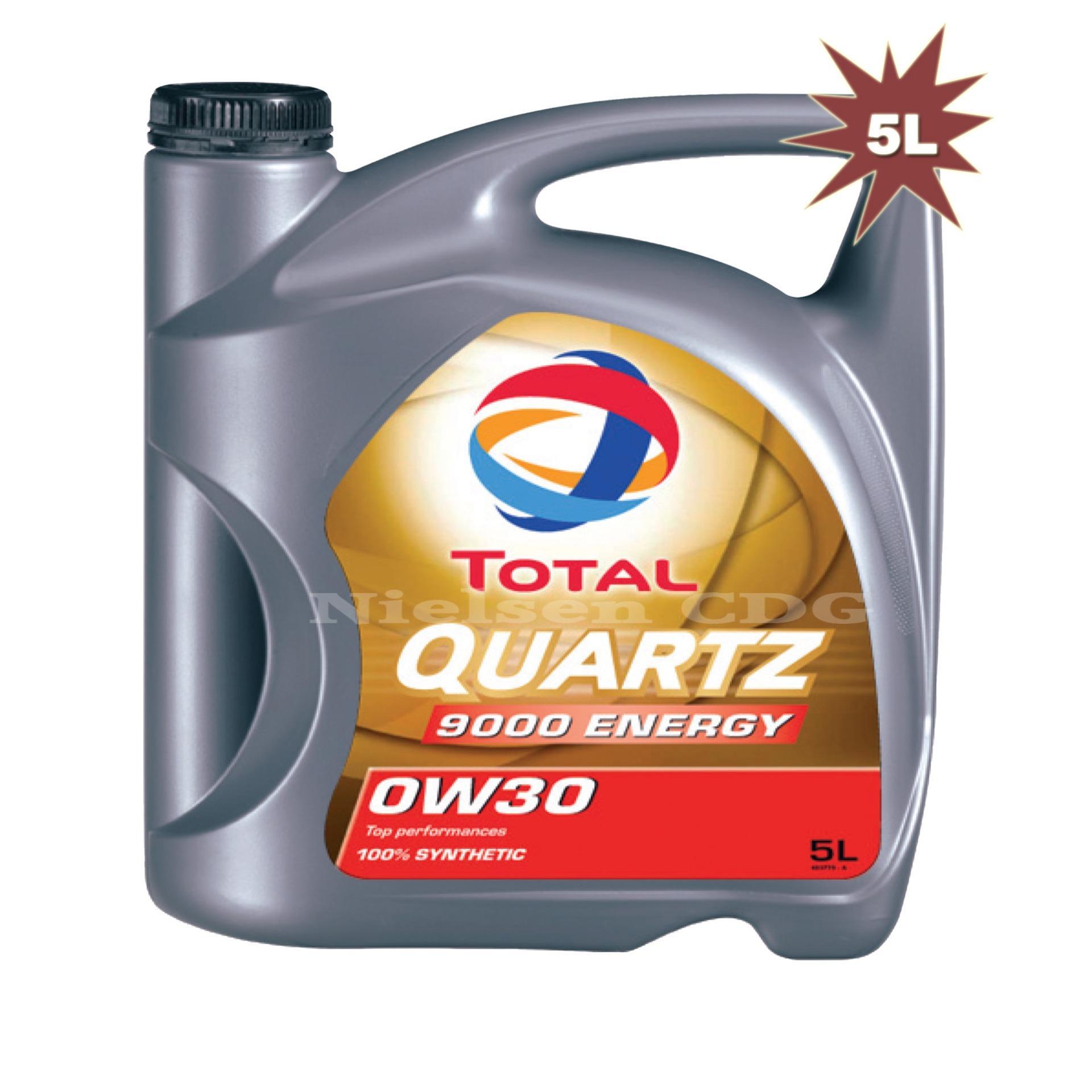ToTal Quazt 9000 0W-30 SL/CF Cao cấp Tổng hợp toàn phần