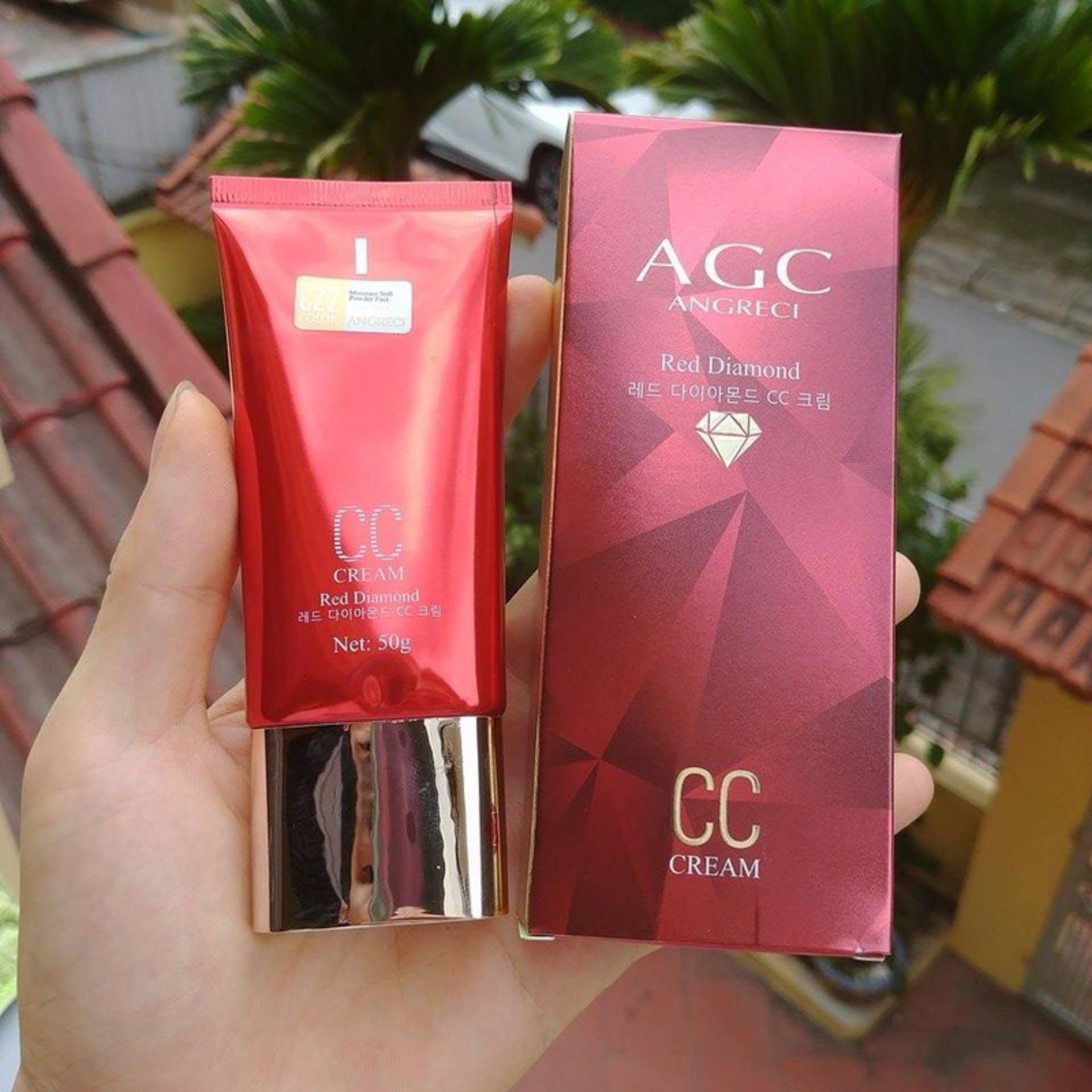 Hình ảnh Kem nền BB AGC Red Diamond siêu che khuyết điểm Hàn Quốc (Đỏ)