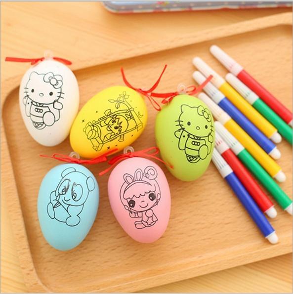 Hình ảnh Trứng tô màu cho bé