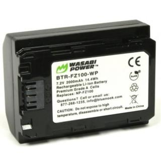 Pin Wasabi NP-FZ100 cho Sony A7 Mark III Sony A7R Mark III Sony A9 thumbnail