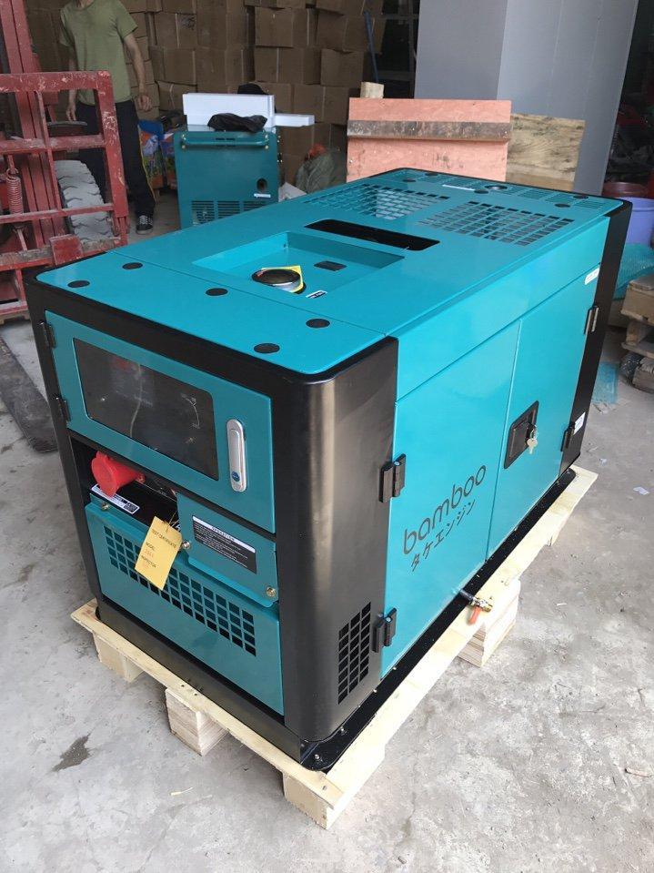 Máy phát điện Bamboo BmB 12000AS (10KW, chạy dầu, đề nổ, vỏ chống ồn)
