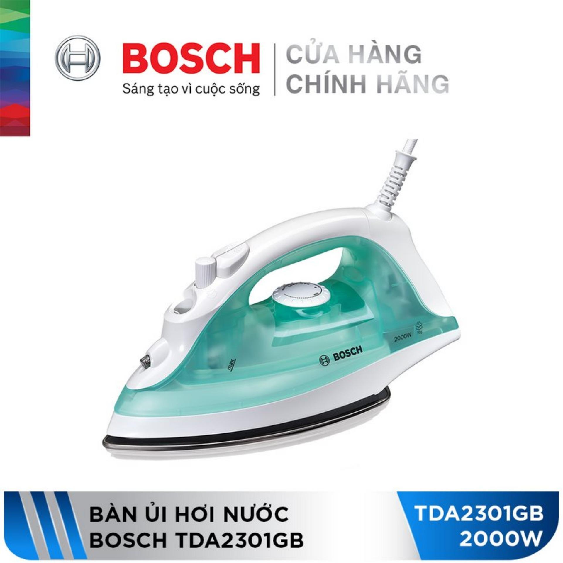 Bàn ủi hơi nước Bosch TDA2301GB (2000W)