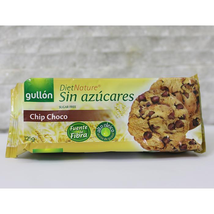 Hình ảnh Bánh Quy Gullon Chip Choco không đường 125g
