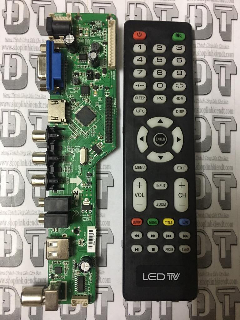 Hình ảnh Bo Tivi đa năng V56 (có HDMI) nạp FW tự động