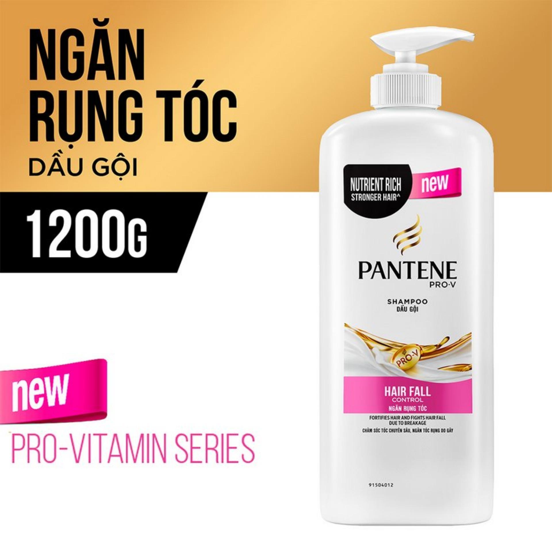 Pantene Du Gi X Dng Tc Hiu Qu Tt Shampoo Pro V Hair Fall Control 480ml Ngn Rng 1200g