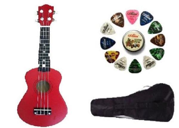 Đàn ukulele soprano size 21 chất lượng âm thanh tốt - Mua 1 tặng 4 được 6
