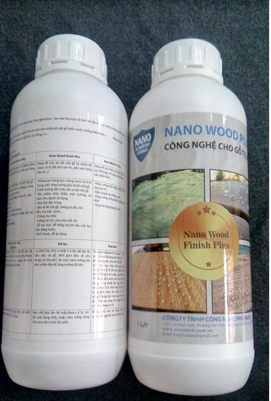 Hình ảnh Nano Wood Finish Plus dầu bóng nano phục hồi gỗ