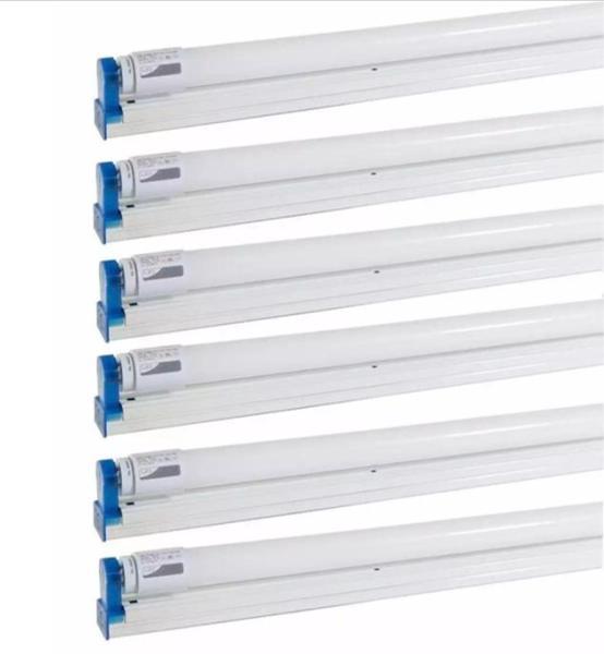 Combo 6 bộ bóng led T8 1,2m 20w. Công suất: 20W. Tiết kiệm điện. Độ bền sáng lâu năm
