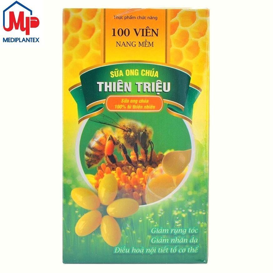 Viên nang Sữa Ong Chúa Thiên Triệu đẹp da ngăn ngừa lão hóa nhập khẩu