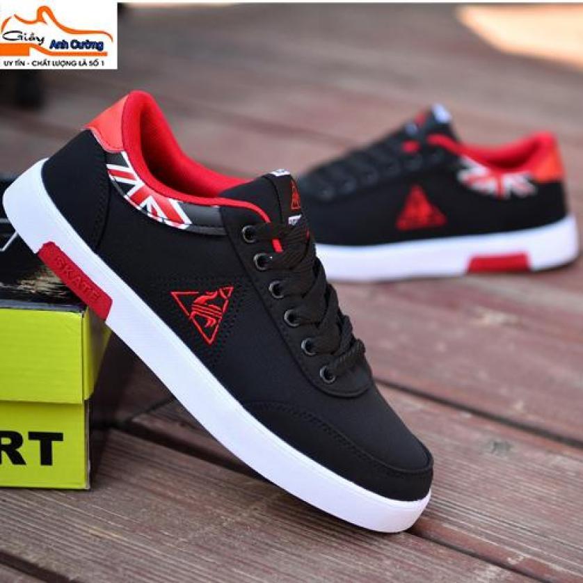 Giày sneaker nam thể thao có hộp - Giày thể thao nam- Giày nam đẹp 2019- có size to -Anh Cường shoes TGT giá rẻ