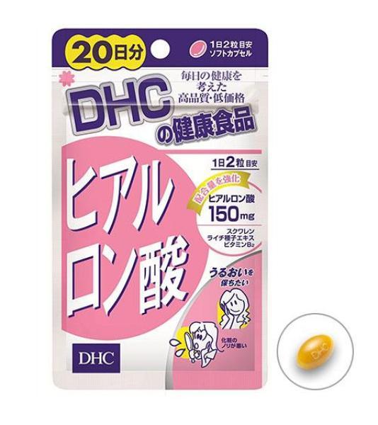 [CHÍNH HÃNG] Viên Uống Cấp Nước DHC Hyaluronic Acid Nhật Bản - 40 viên (20 ngày) - TITIAN