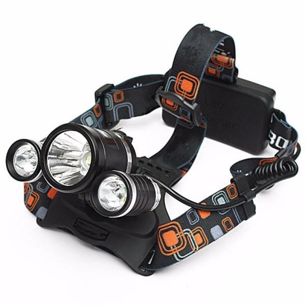 Đèn pin đội đầu 3 bóng T6 dùng 2 pin 18650 tặng kèm 2 pin và dây sạc đèn pin siêu sáng đèn pin siêu sáng đèn led AN TOÀN TIỆN LỢI BẢO HÀNH UY TÍN THIẾT KẾ HỆN ĐẠI