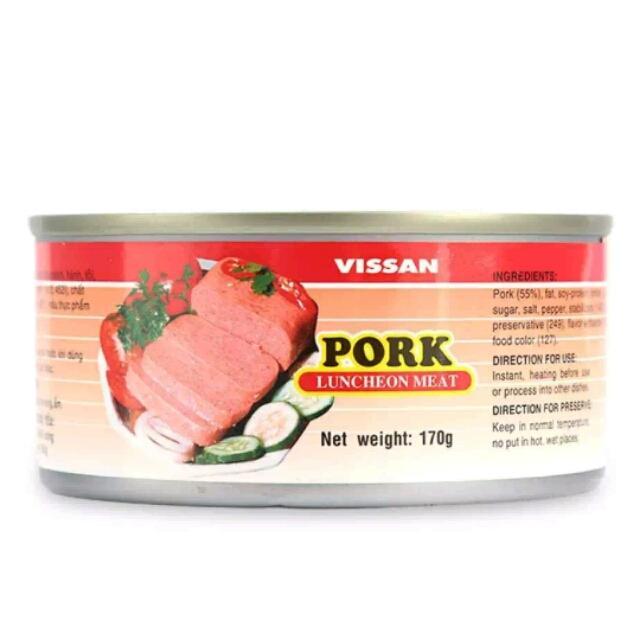 Pa Tê Thịt Heo Vissan Hộp 170 G