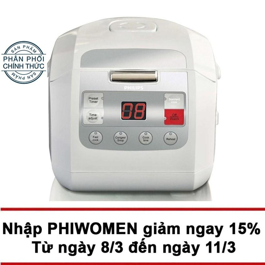 Nồi Cơm Điện Tử Cong Nghệ Fuzzy Logic Philips Hd3030 1 Lit Hang Phan Phối Chinh Thức Philips Chiết Khấu 30
