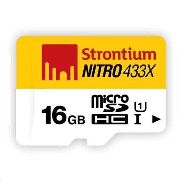 Thẻ nhớ Strontium 16Gb Nitro class 10 tốc độ 90Mb/s siêu bền bảo hành trọn đời