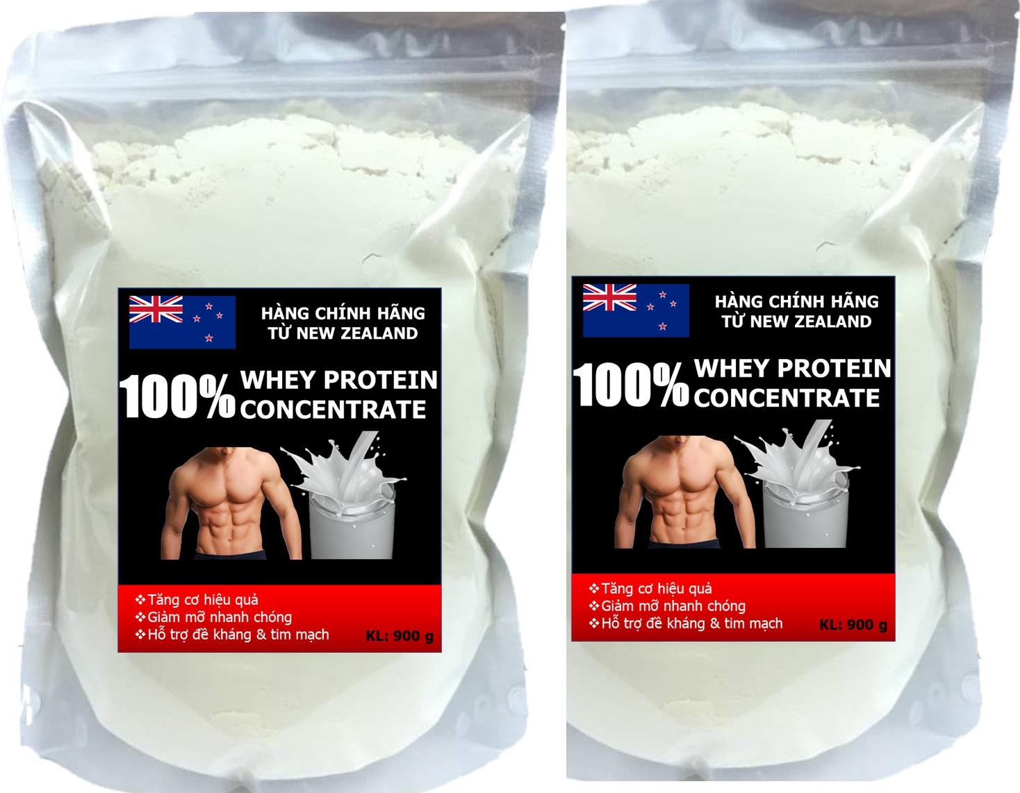 WHEY PROTEIN CONCENTRATE - COMBO 2 PACKS