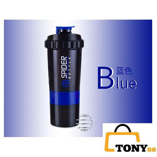 Bình nước lắc thể thao , Bình nước lắc thể thao Protein Shaker Sports 500ml - Tony88