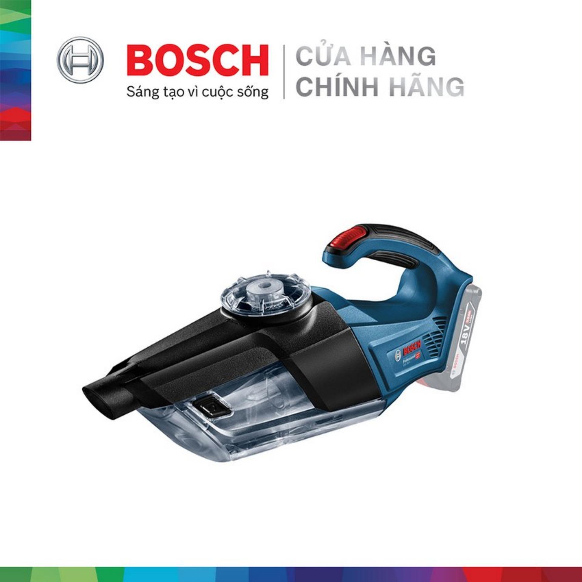 Máy hút bụi Bosch GAS 18V-1 SET (1 pin 18V 3.0Ah, 1 sạc) MỚI