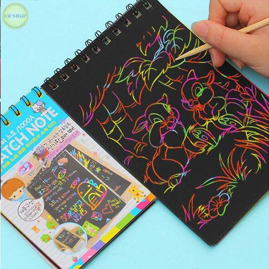 Mua Bộ 5 sổ tay ma thuật kích thước A6 Loại 10 trang