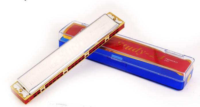 Offer Giảm Giá Kèn Harmonica Suzuki 24 Lỗ( C )