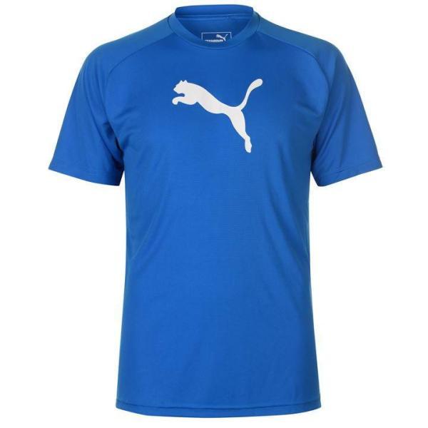 Áo thun thể thao nam Puma Liga Short Sleeve (màu Xanh) - Hàng chuẩn châu Âu