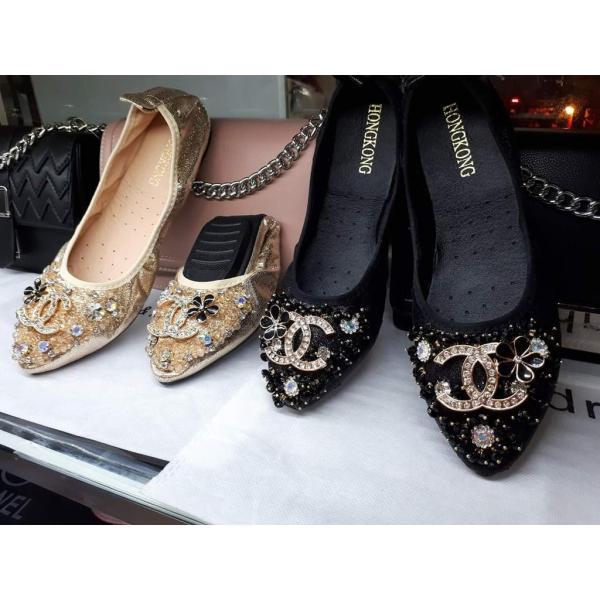 Giày búp bê x hoa có sẵn