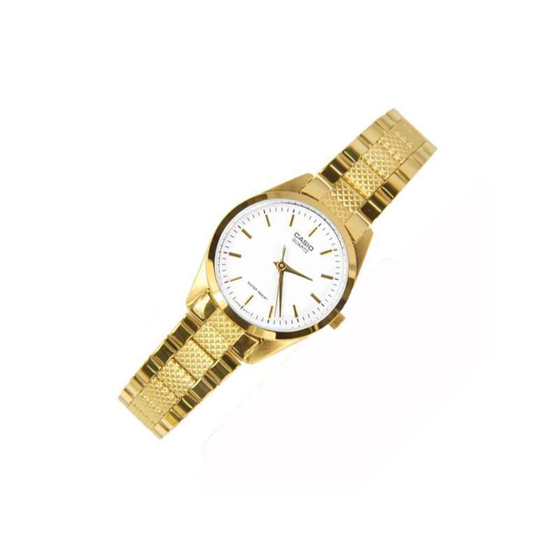 Đồng hồ nữ dây thép không gỉ Casio LTP-1274G-7ADF