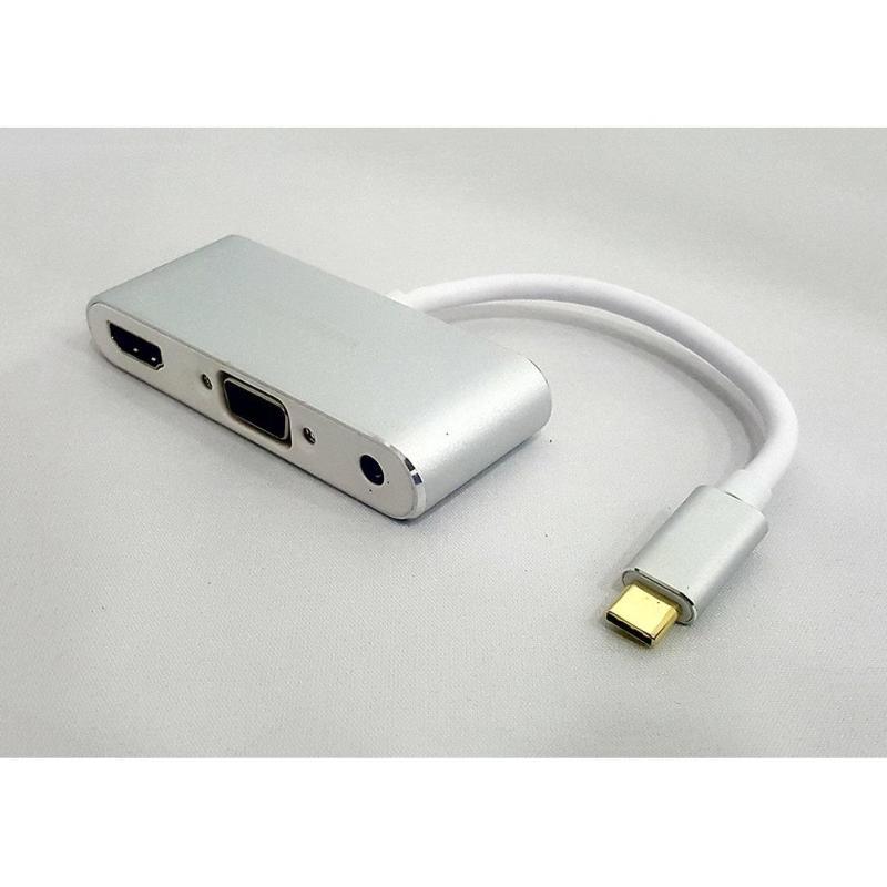 Bảng giá Cáp Macbook Type C  Sang HDMI + VGA Phong Vũ