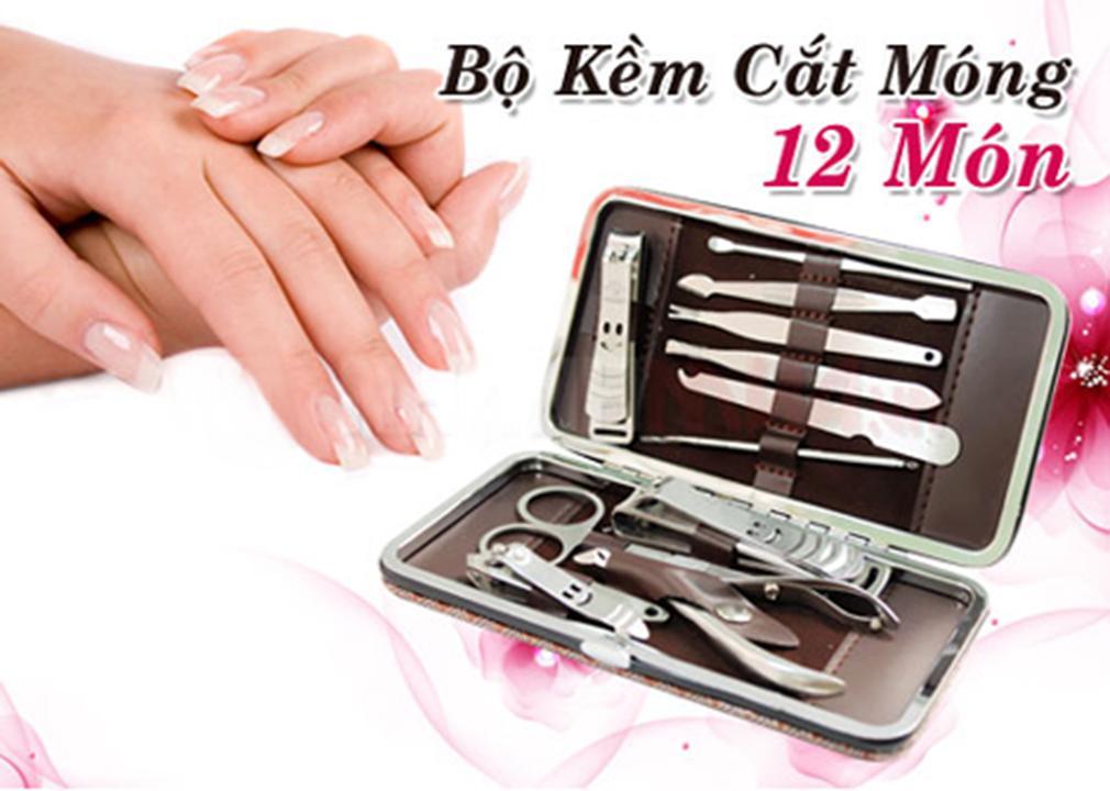 Bộ kìm cắt móng tay 12 món thép không gỉ tốt nhất