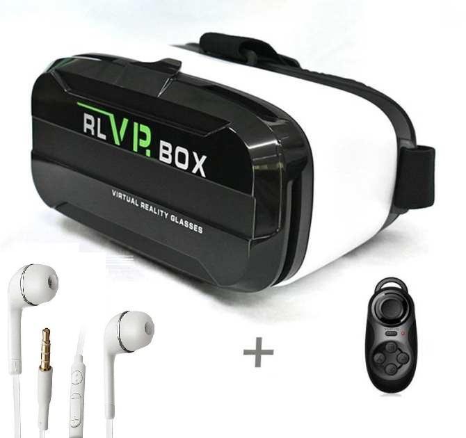Kính thực tế ảo Vr Box RL 2 và tay game Andoird Bluetooth 3.0 tặng tai nghe J5, mang lại trải nghiệm và chơi trò chơi tuyệt vời