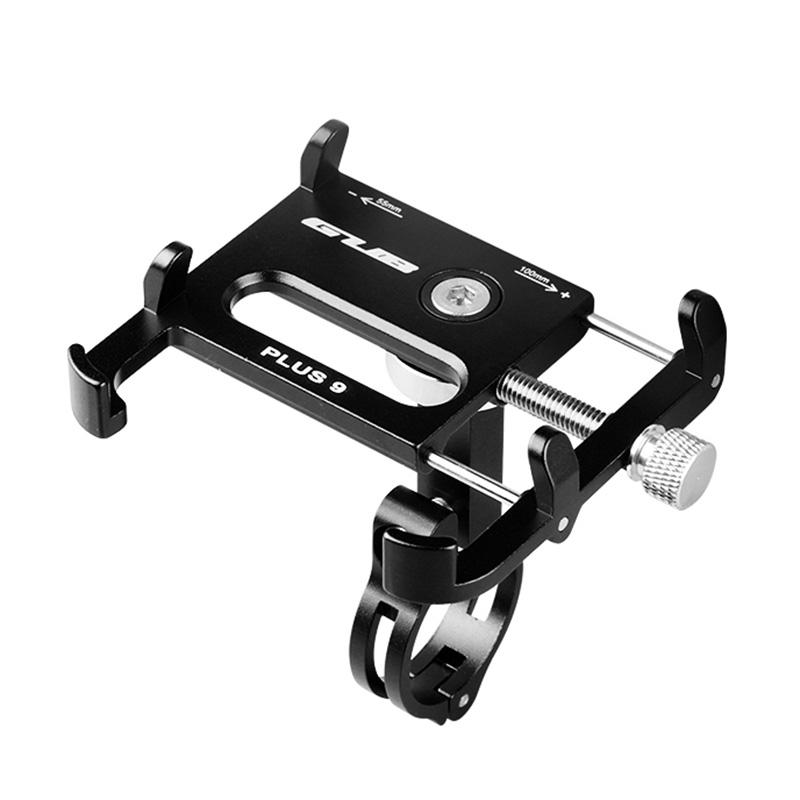 PAlight Bicycle Handlebar Bracket Holder Aluminum Alloy Anti-theft Screw For Mobile Phone Motorcycle