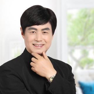 Tóc Giả Nam Trung Niên Hàn Quốc Màu Đen Tặng Kèm Lưới AeShin - D20 thumbnail