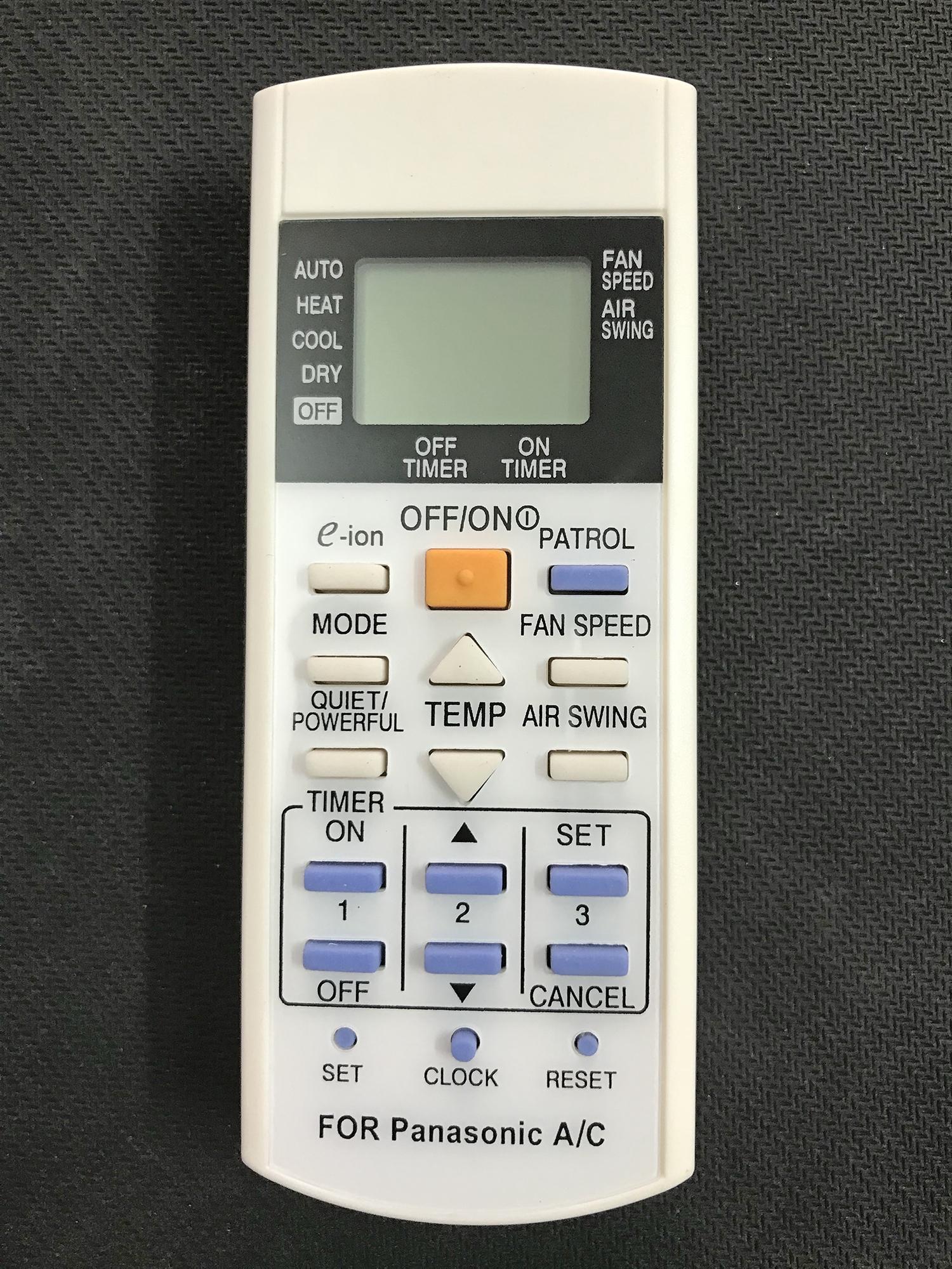 Bảng giá Điều khiển điều hòa panasonic CS - 2 Chiều (Trắng)