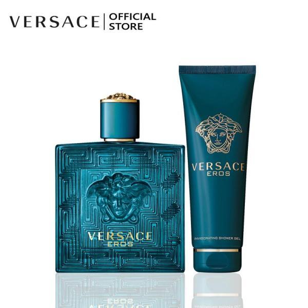 Bộ Nước hoa Versace Eros EDT 100ML và Sữa tắm Versace Eros Invigorating Shower Gel 250ML