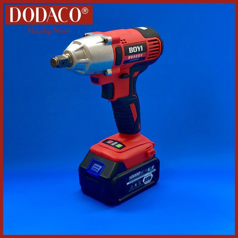 Máy xiết bu lông dùng pin DODACO DDC3200 BOYI 21V 20 x 18 x 8cm màu Đỏ