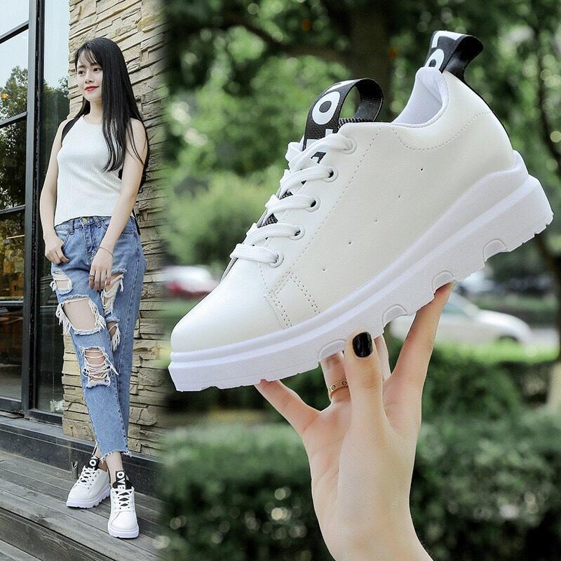 Hình ảnh giày love trắng đen