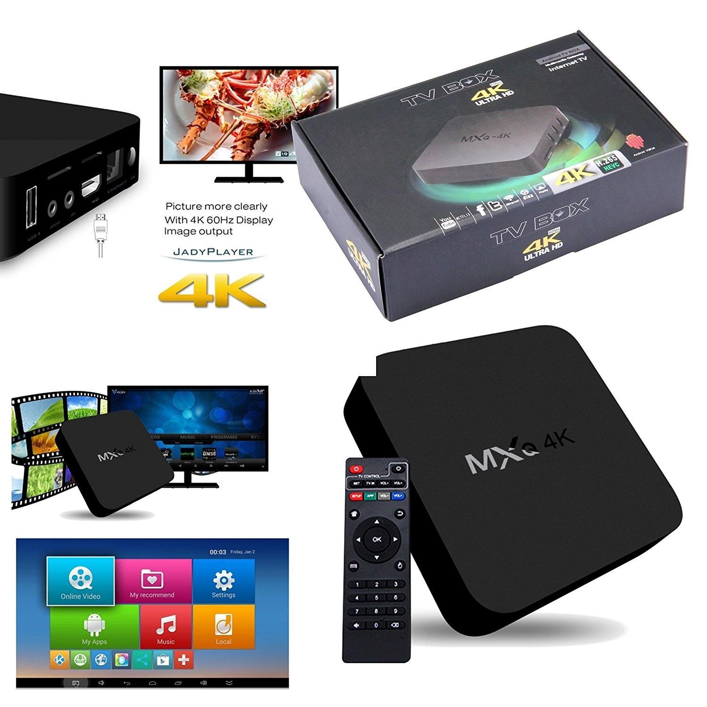 Android Box MXQ 4k - Biến Tivi Thường Thành Smart Tivi