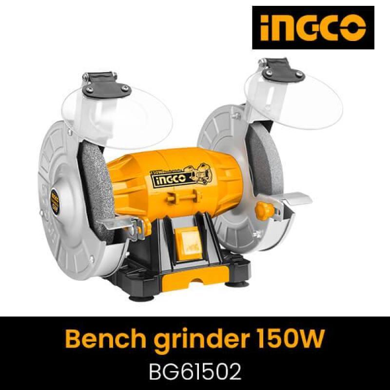 Máy mài để bàn 2 đá 150W INGCO (150mm) BG61502