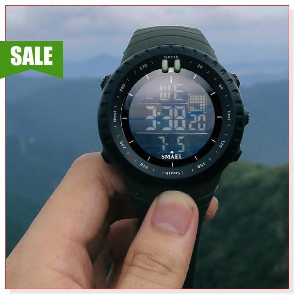 Đồng hồ nam thể thao SMAEL 1237