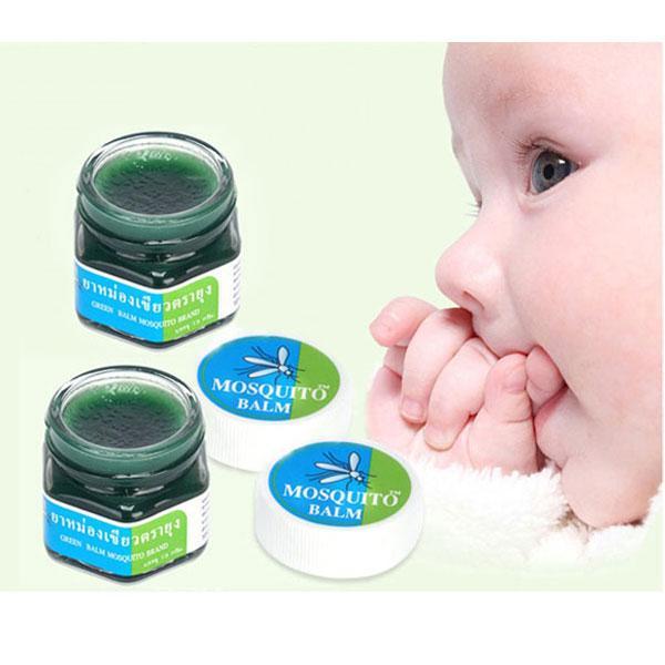 Combo 2 Kem chống muỗi đốt Green Balm Mosquito Brand Thái Lan