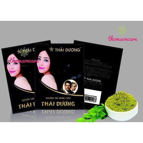Nhuộm tóc dược liệu Thái Dương - Thảo dược