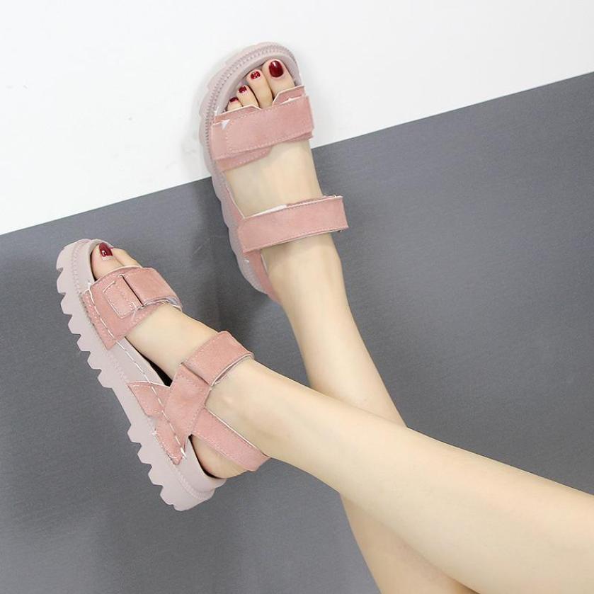 Giày sandal đế bánh mì đế gai siêu hot giá rẻ
