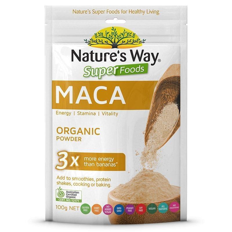 Bột Maca (sâm Peru) - Natures Way Superfoods Maca cao cấp