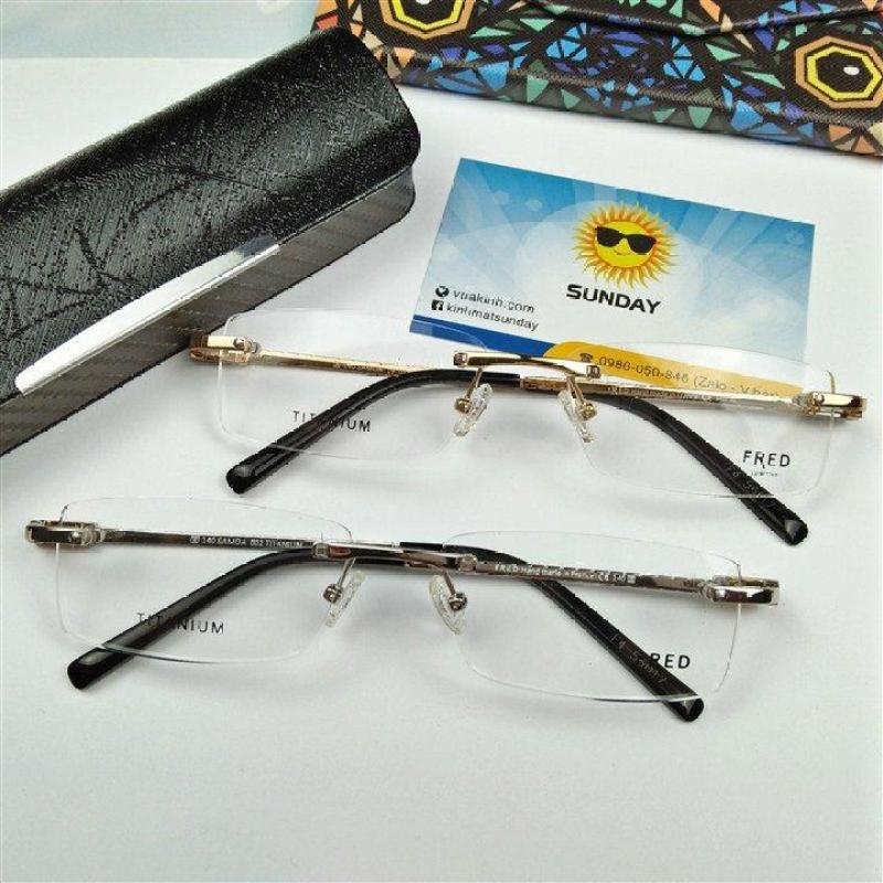 Giá bán Gọng kính cận không viền Fred V38