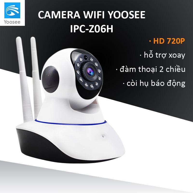Camera YOOSEE WIFI IP XOAY 360 ĐỘ 2 RÂU 720P - NEW 2018 Nhật Bản